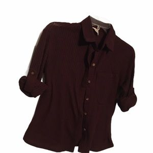 Passport quilted blouse
